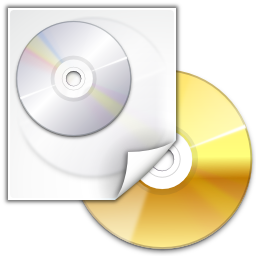 Actions tools media optical burn image icon