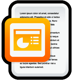 Document Microsoft PowerPoint icon