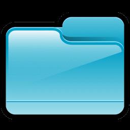 Folder Generic Blue icon