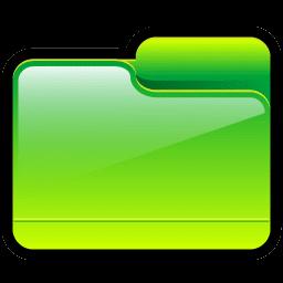Folder Generic Green icon
