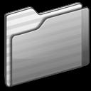 Folder gray icon