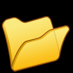 folder yellow icon