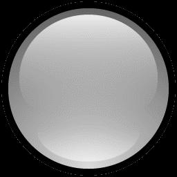 Button Blank Gray icon