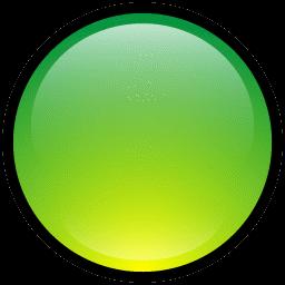 Button Blank Green icon