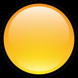 Button Blank Yellow icon