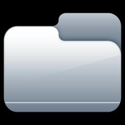 Folder Closed Silver icon