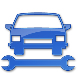 Car Repair Blue 2 icon