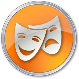 Theater Yellow icon
